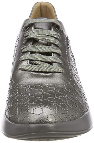D Mujer Zapatillas Theragon Para C graphite Geox C1115 awxdPnd