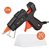 Tacklife GGO20AC 20w Classic Hot Glue Gun with 30 pcs Transparent Glue Sticks