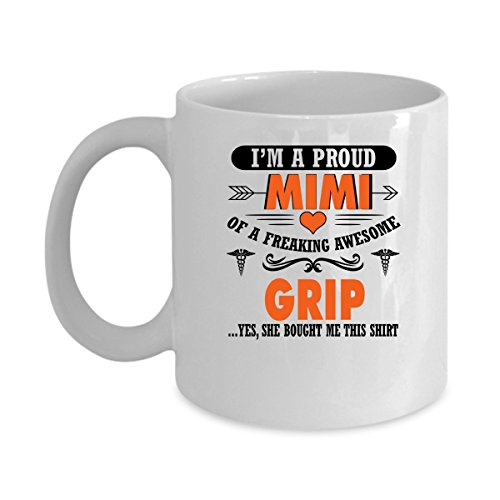 5325 Chocolate (Funny GRIP Jobs Mugs - I'm Proud Mimi Of Freaking Awesome GRIP Best Sarcastic Mug Gift For Him,Her, Adult.. On Thanks Giving, Christmas Day, White 11Oz Coffee Mugs)