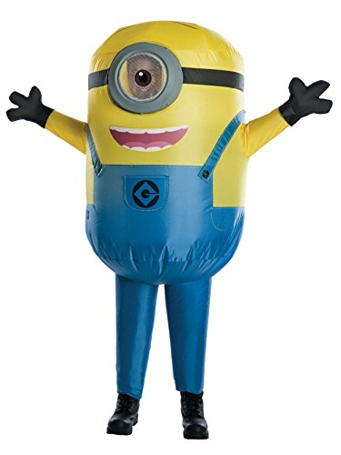 Despicable Me: Stuart Minion Inflatable Kids Costume Yellow/Blue for $<!--$36.02-->