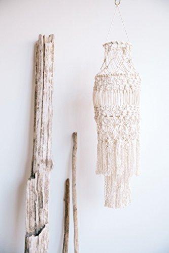 Macrame Lamp Shades Boho Wedding Hanger Handwoven Home Hanging Decoration,9.8