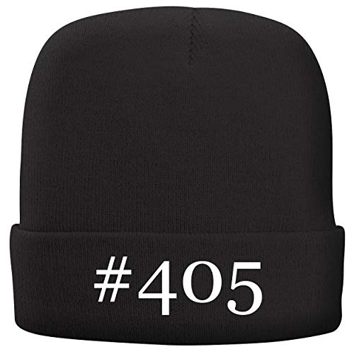BH Cool Designs #405 - Adult Hashtag Comfortable Fleece Lined Beanie, Black