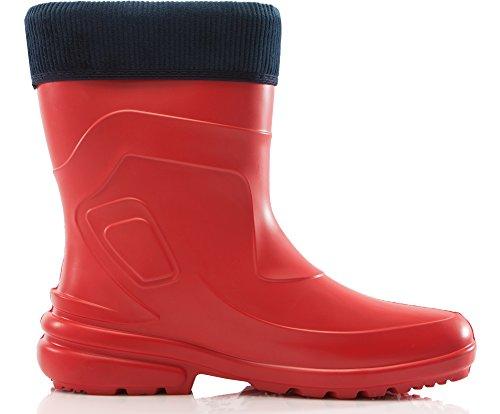 de LA Agua Muy Zapatos Seguridad 800 Marino Mujer Ligeras 2017 Antideslizantes Botas Ladeheid de Rojo88 Azul 4qw1C5gwx