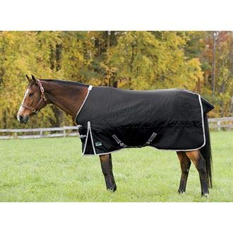 Rider's by Dover Saddlery Supreme Heavyweight Turnout Blanket - Navy/Navy, ()
