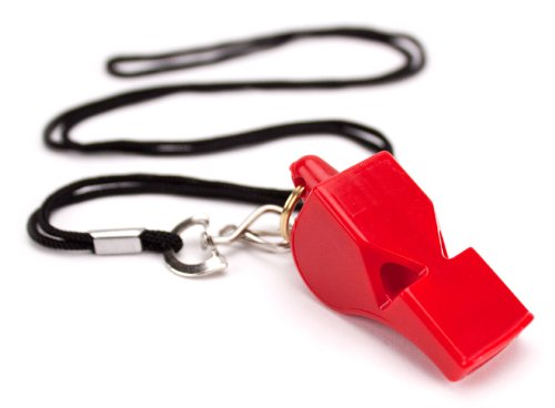 Crown Sporting Goods Plastic Whistle