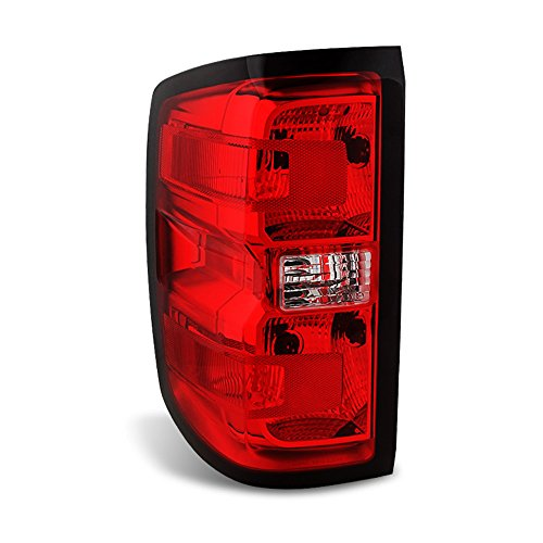 (ACANII - For Chevy Silverado 1500 2500HD 3500HD Tail Light Brake Lamp Replacement - Driver Side)