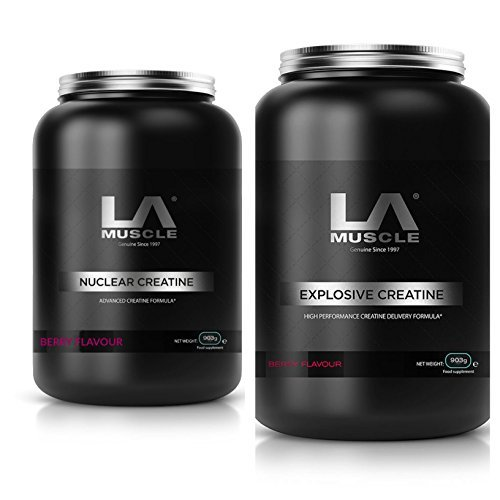 LA Muscle Extreme Creatine Stack RRP $130. Yours for just (Extreme Speed Stack)