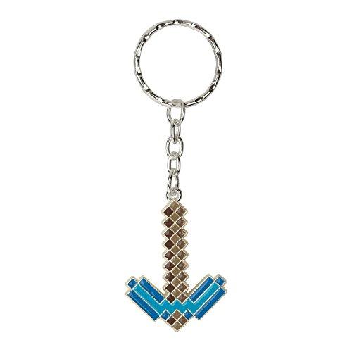 Minecraft - Porte-clés métal Diamond Pickaxe