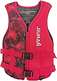 JTAISC Life Jackets Adult Adjustable Safety Breathable Life Vest for Men and Women Buoyancy Aids for Fishing,