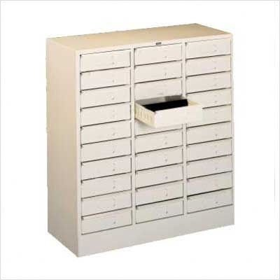 Tennsco 3085 30 Drawer Organizer, Legal Size Color: Champagne - Drawer Tennsco Organizer 30