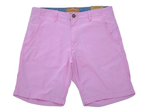 Red Camel Cotton Twill Mens Shorts (30, Pink 9 inch (Pink Chino)
