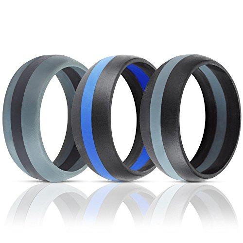 ThunderFit Silicone Wedding Band Engagement product image