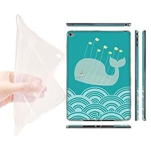 Head Case Designs Birds Kawaii Whales Soft Gel Back Case Cover for Apple iPad Air 2