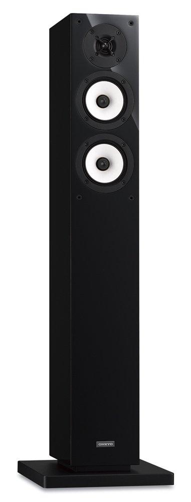ONKYO D-309XE 2ウェイトールボーイスピーカーシステム (1台) ブラック D-309XE(B) 【国内正規品】 B071XYDDR2 ブラック