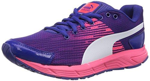PumaSequence W - Zapatillas de running mujer - azul/rosa
