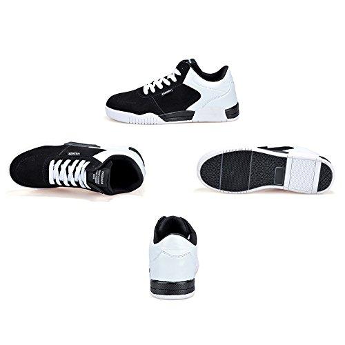 De Cordones De Los Los A Para Unisex Respirables Planas Ocasionales Mujeres Hibote Cómodos Para Las Zapatillas Y Caminar Hombres Zapatos Las Deporte Clásicos npEvx6S