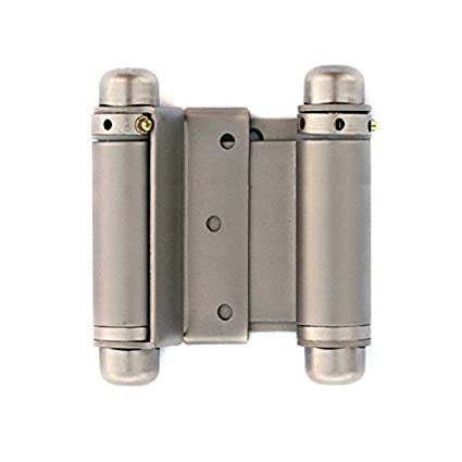 Gentil CAFE DOOR HINGES By CAFE DOORS EMPORIUM   3u0026quot; SPRING HINGE In SATIN  NICKEL Finish
