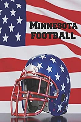 Minnesota Football: Homework Book Notepad Composition and Journal Diary