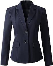 Beninos Women's Formal 2 Button Blazer Jacket Sport
