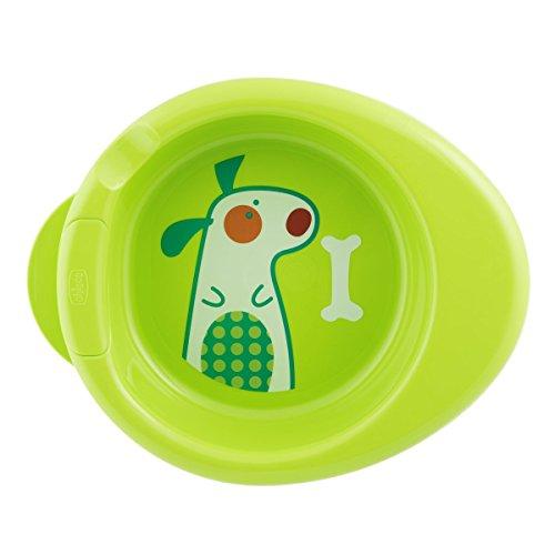 Chicco Warmy Plate - Plato termo 2 en 1, 6 m+, verde