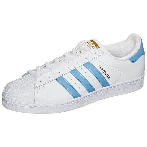 Adidas Superstar–Chaussures pour homme, Blanc–(Ftwbla/azusua/dormet) 491/3