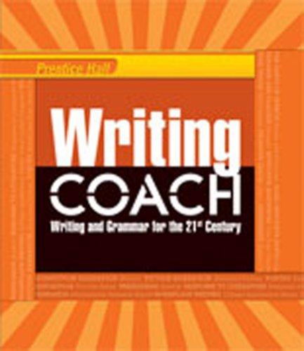 Writing Coach - WRITING COACH 2012 STUDENT EDITION GRADE 11