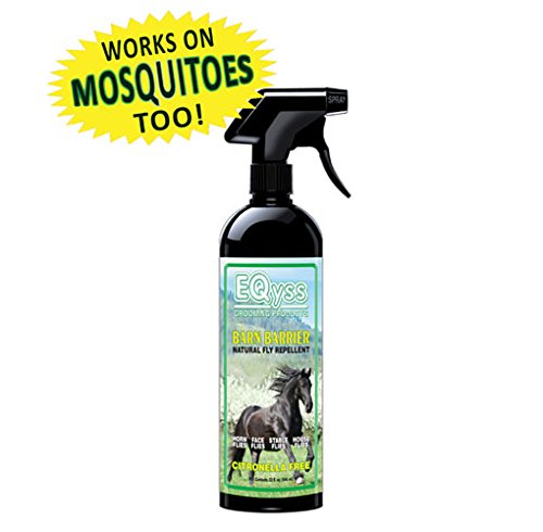 Eqyss Barn Barrier Natural Fly Repellent Spray, 32 oz