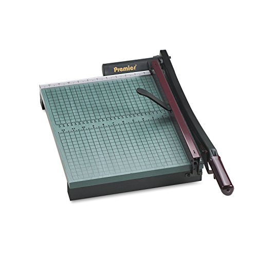 Premier 715 StakCut Paper Trimmer, 30 Sheets, Wood Base, 12 7/8