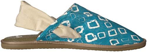 Blue Enamel M Lauren Yoga 10 Us Women's Sandal Sling Sanuk Cruz Print fBYxq0fw