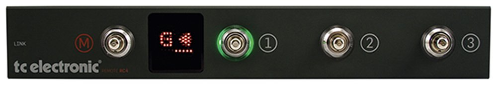 TC Electronic RC4 Floor Controller for RH450, Combo450 and Staccato '51 Bass Amp Heads by TC Electronic