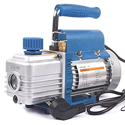 TOPCHANCES 220v High Precision 150W 3.6m³/h Vacuum Pump Double Stage for Evacuating Cooling