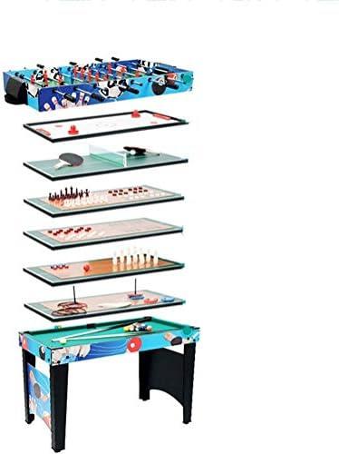 YUHT Mesa multijuegos Multi 12 en 1 Combo Juego de Mesas de ...