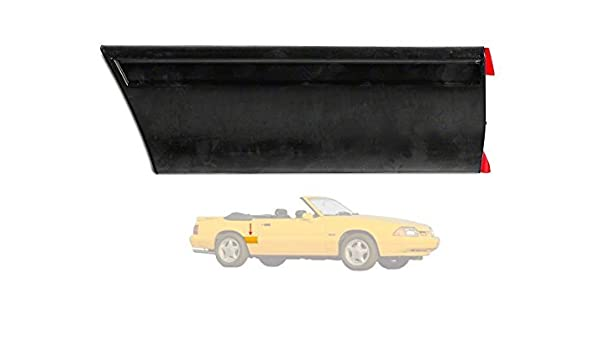 1985-1986 Ford Mustang LX Left LH Drivers Front of Quarter Body Moulding Molding