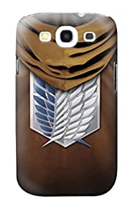 R2164 Scouting Legion Rivaille Brown Cloak Case Cover For Samsung Galaxy S3