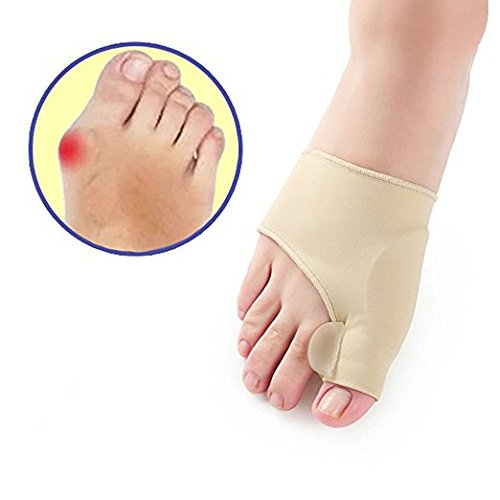 Bunions Corrector - Bunions Relief Protector - Toe Separators, Treat Pain in Hallux Valgus, Hammer Toe Spacers Straightener Splint Aid Surgery Treatment by Hobbyunion