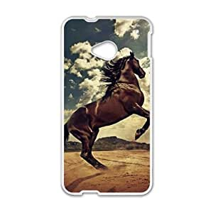 HTC One M7 phone cases White Horse fashion cell phone cases TRUG1035677