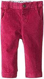 JoJo Maman Bebe Baby Girls\' Cord Slim Fit Jeans, Raspberry, 12 18 Months