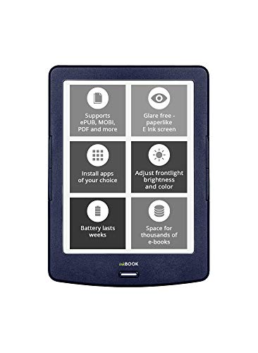inkBOOK Lumos 6 Inch eReader Frontlight 4GB Color Temperature Management (Best Ereaders For Android)