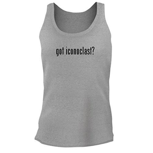 Tracy Gifts got Iconoclast? - Women's Junior Cut Adult Tank Top, Heather, X-Large