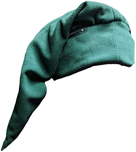 Link Cap Chemo Cap Green Beanie Legend of Zelda Elf Hat with Hidden Pockets -
