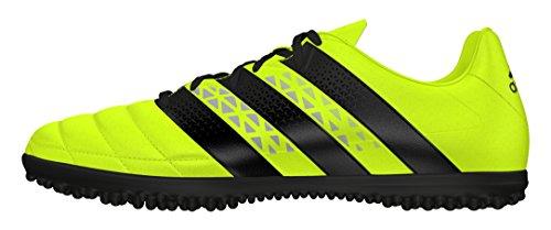 Ace da Leather Amasol Scarpe Calcio adidas Negbas 16 Uomo Giallo Amarillo Plamet 3 TF Ydqn6Fw