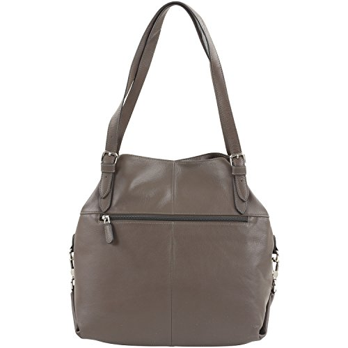 Carrie Picard cm borsa Carrie Taupe Picard pelle borsa mano 31 a UPx6RxHw