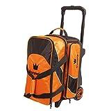 Brunswick Edge Double Roller Bowling Bag, Orange