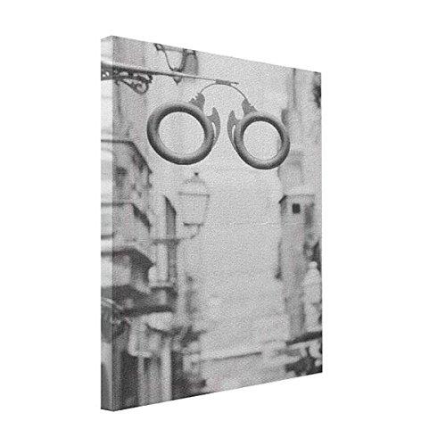 VetiVer Canvas Wraps Europe, Spain, Mallorca. Eyeglass Shop Sign, Canvas Print