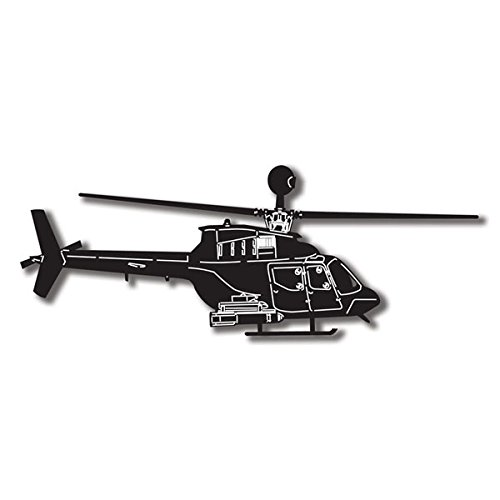 Scout Helicopter Laser Diecut for Scrapbooking
