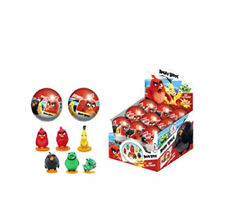 ANGRY BIRDS MOVIE SURPRISE BALL with 3D toy as Chocolate Kinder Egg