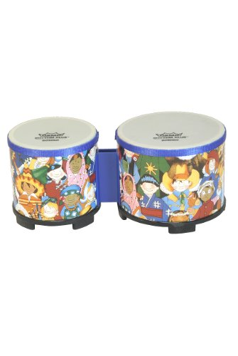 Remo RHYTHM CLUB Bongos, 5-Inch and 6-Inch (Package Of 3)