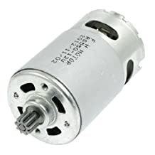 Universal DC 12V 9 Toothed Power Gear Motor for Cordless Drill