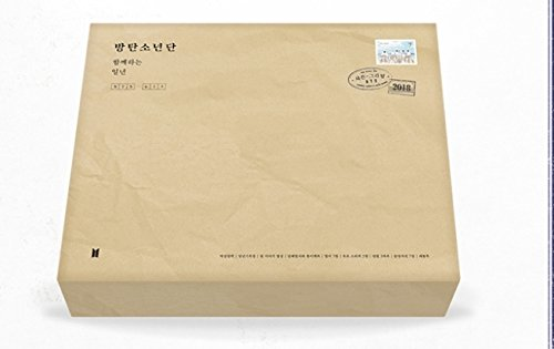 Price comparison product image BTS - 2018 SEASON'S GREETINGS Desk Calendar+Diary+Making DVD+Postcards+Extra Photocards Set(SHIP FROM UNITED STATES,  We only use Priority Mail,  Estimated deliver date 3 - 7 business days Guaranteed)