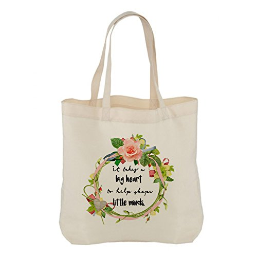 minds Hiros Teacher you shape End Term Thank Appreciation of takes gift Teacher bag little Gift Thank big Gift a It heart help to Teacher tote you rgwzrqv